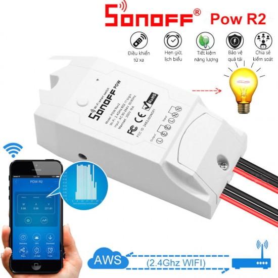 POW R2/POWER - Công tắc giám sát điện năng tiêu thụ