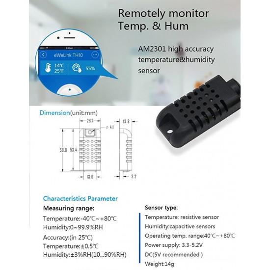 AM2301 - Đầu dò độ ẩm, nhiệt độ