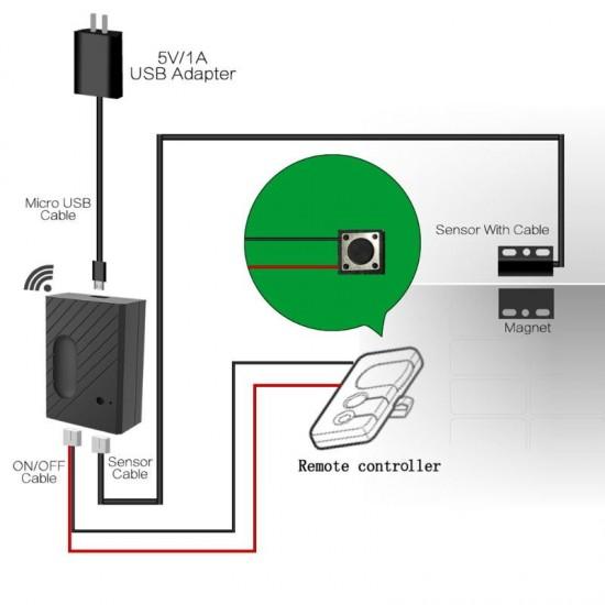 EGARA - Điều khiển cửa cuốn WiFi thông minh eWeLink