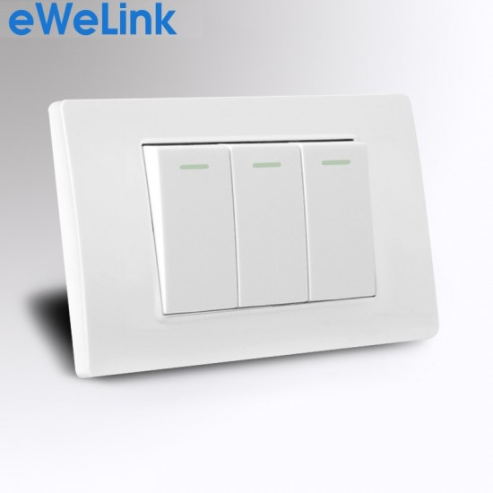 L7863C - Công tắc âm tường 3 nút nhấn