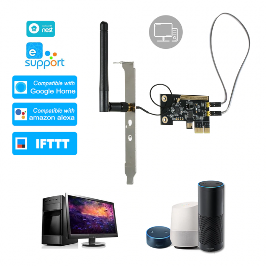 EPCI - Card PCI WiFi thông minh tắt mở máy tính từ xa