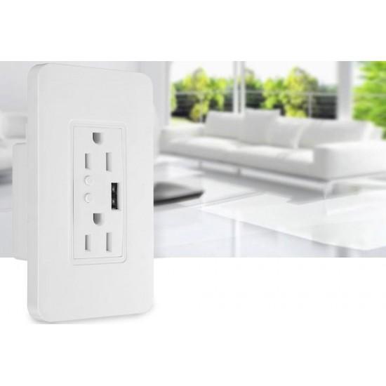 ESW2USB - Ổ cắm áp tường WiFi WiFi thông minh