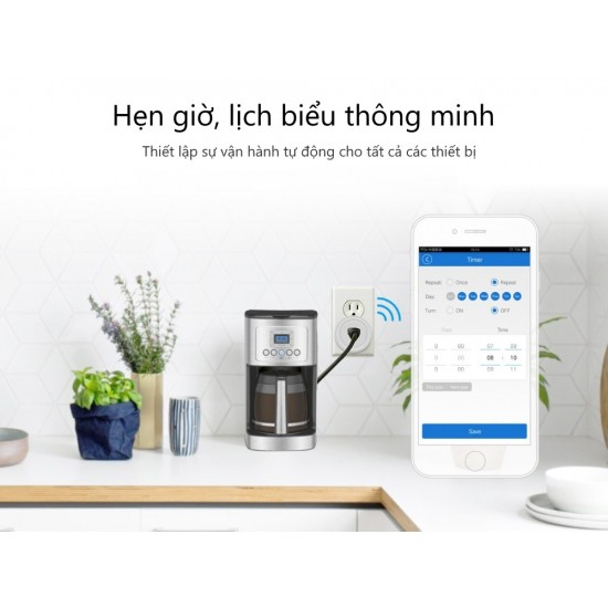 ESWSUS - Phích cắm WiFi thông minh