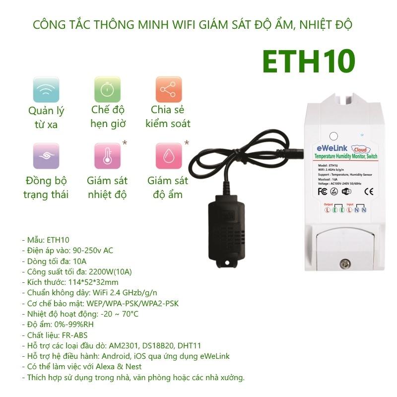Hướng dẫn sử dụng ETH10 và ETH16 của eWeLink
