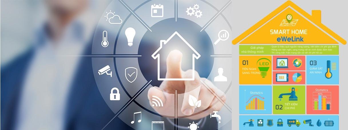 Giải pháp nhà thông minh cho phép người dùng điều khiển mọi hoạt động trong ngôi nhà của mình